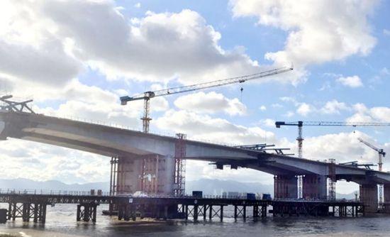 澳门真人博彩娱乐官网绕城高速东南段建设传捷报 两个控制性工程有了新突破