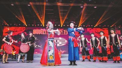 福安畲族婚俗亮相上海国际婚礼时尚周