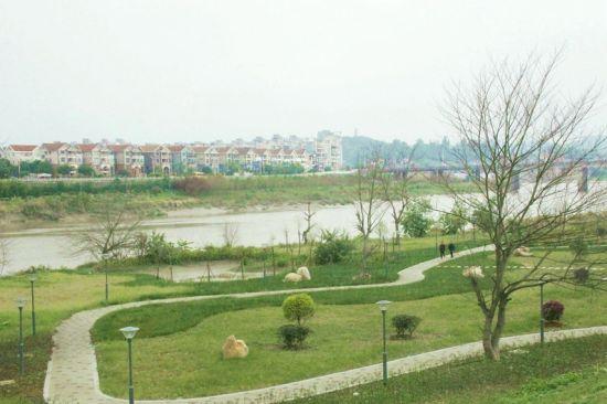 连江敖江南岸生态公园开放