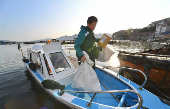 海上邮路:一个人·一片海·二十年