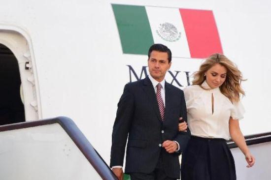 墨西哥总统培尼亚抵达厦门