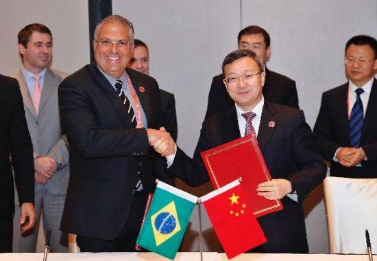 澳门网上博彩娱乐官网与巴西签署服务贸易合作计划